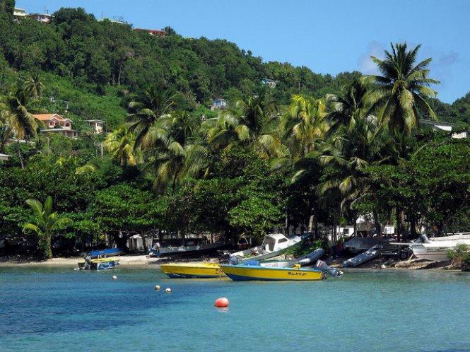 puerto elizabeth en isla bequia en islas Granadinas