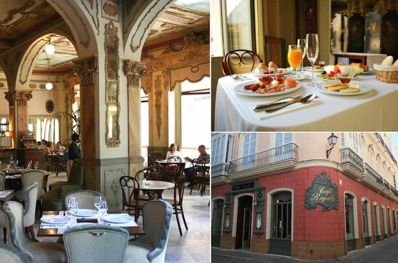 Cafetería Royalty en Cadiz - desayunos