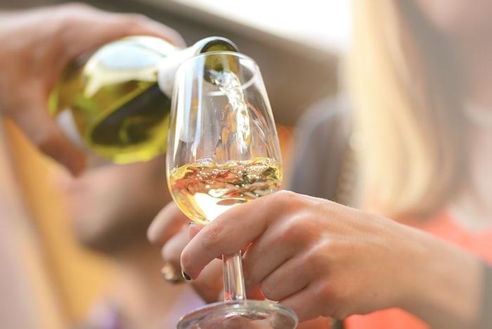 Feria de Sevilla: vino blanco