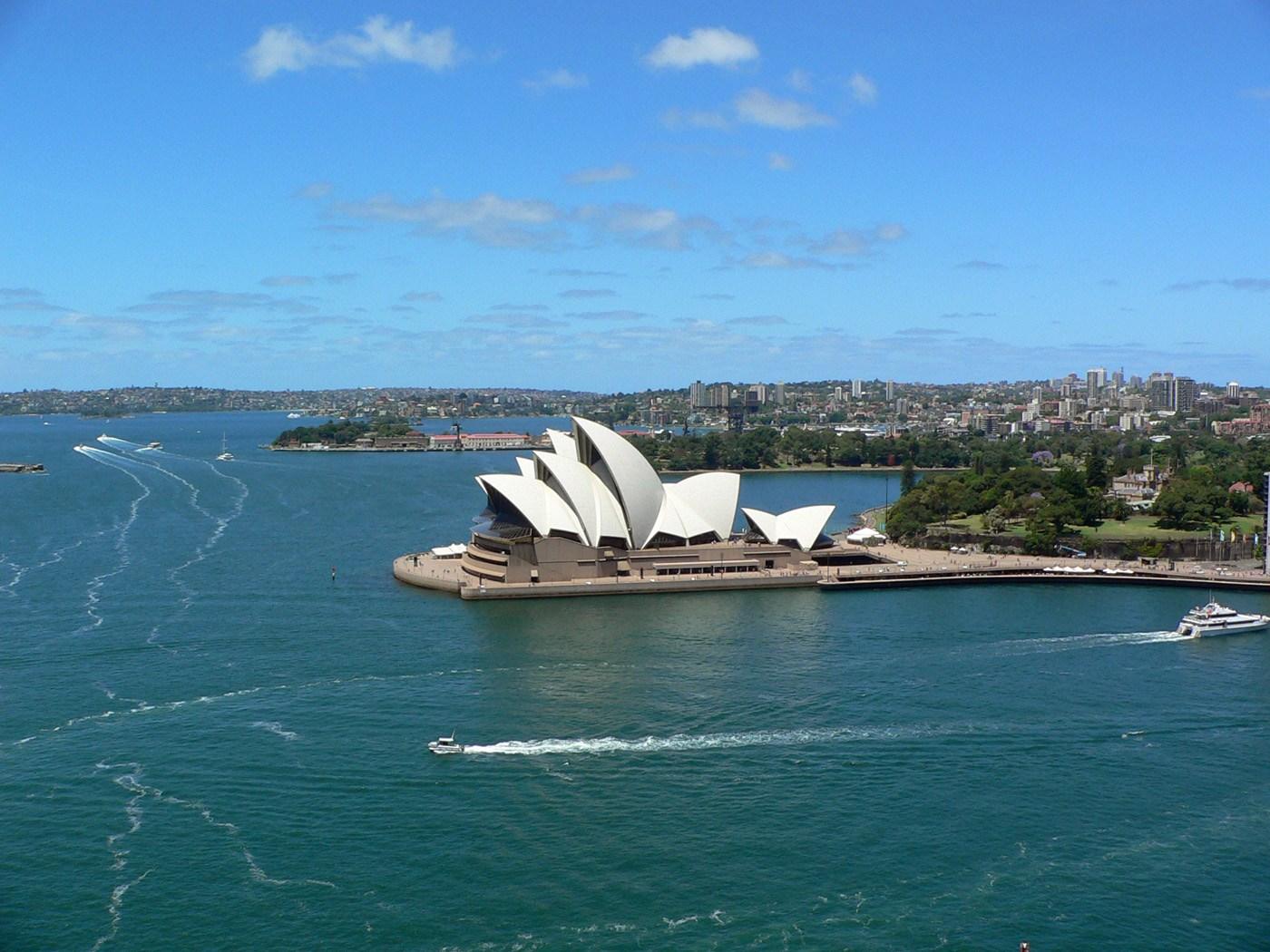 L'inconfondibile Sydney. Cabiria Magni Australia