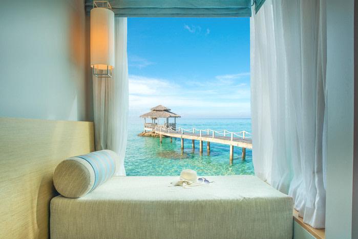 Habitación hotel con vistas al mar