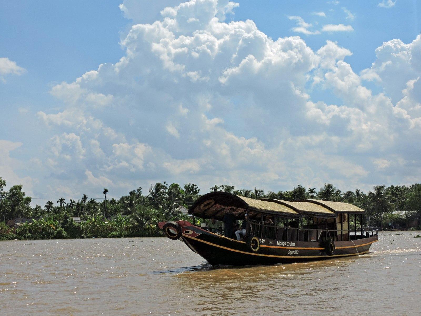 Il delta del Mekong, Vietnam.
