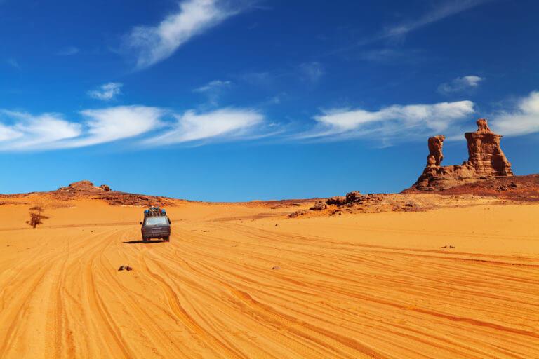 aventura en el desierto del sahara