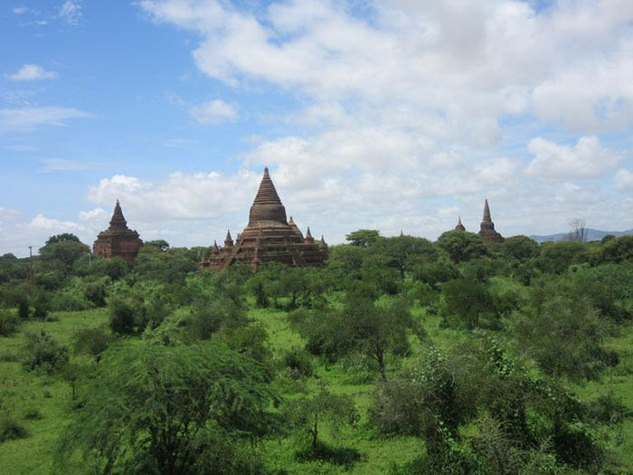 bagan en myanmar birmania