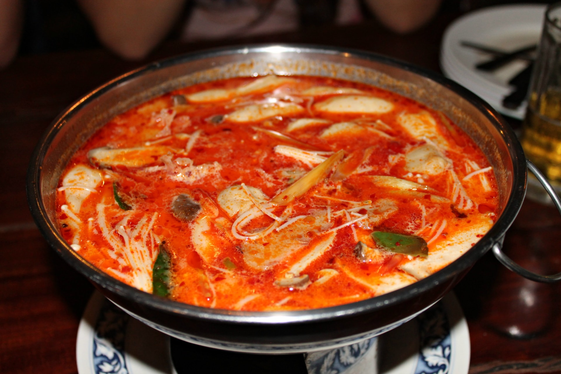 tom yum soup, Bangkok