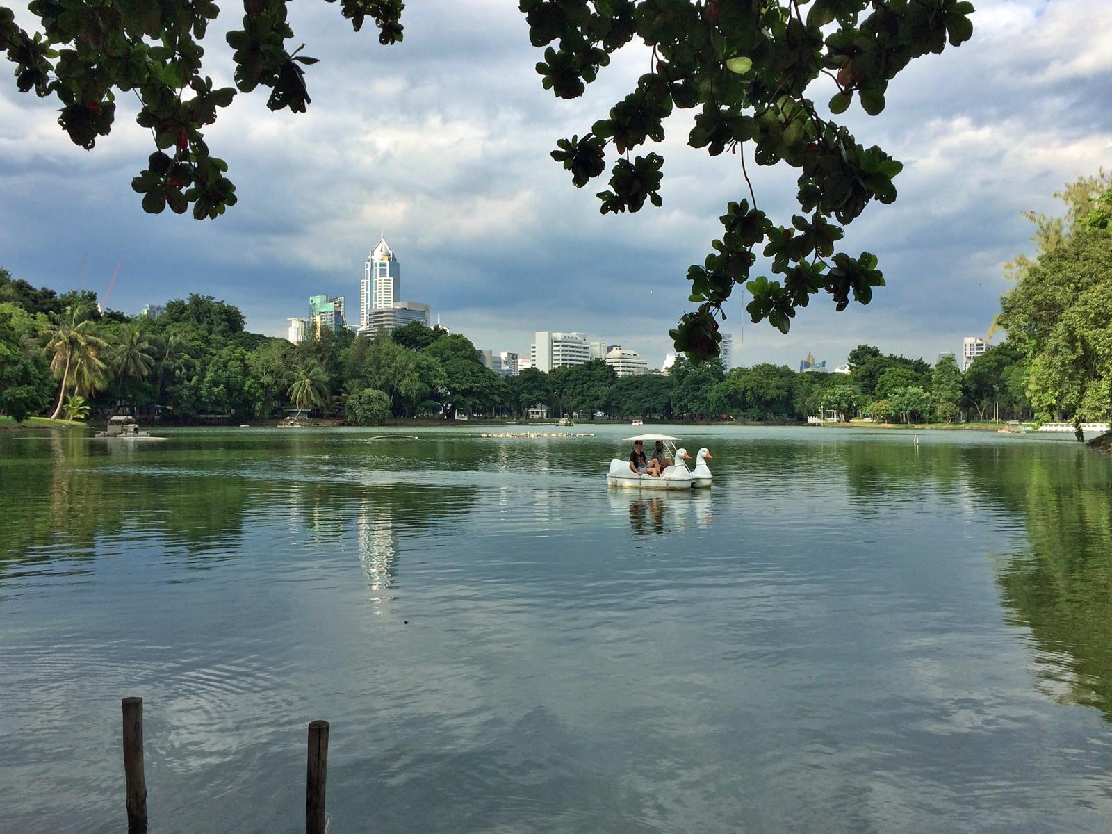 Relax a Lumphini Park. Cabiria Magni