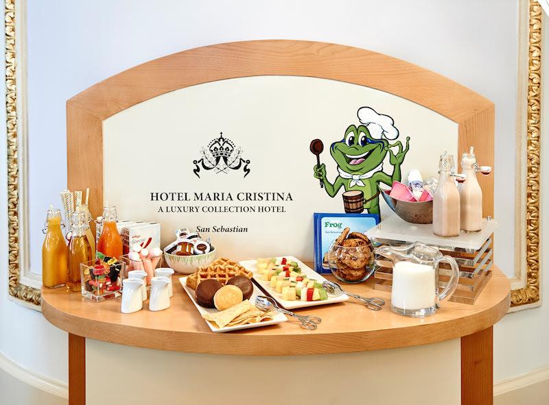 Hotel María Crisitina en San Sebastian, desayuno