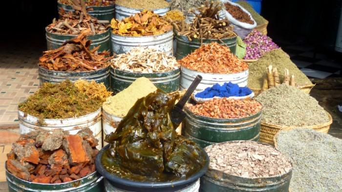 Marrakech: zoco de especias