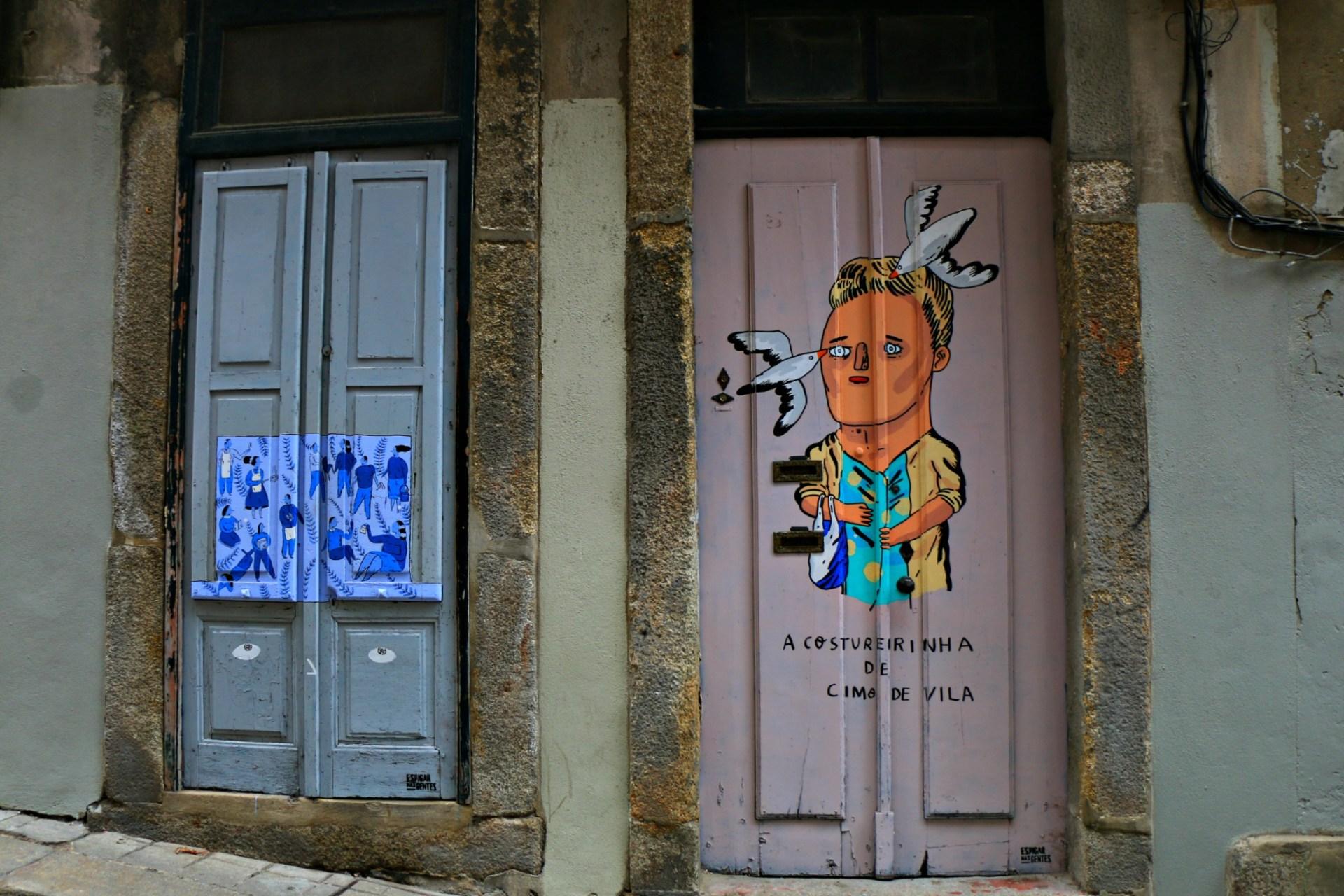 Porto, porticine