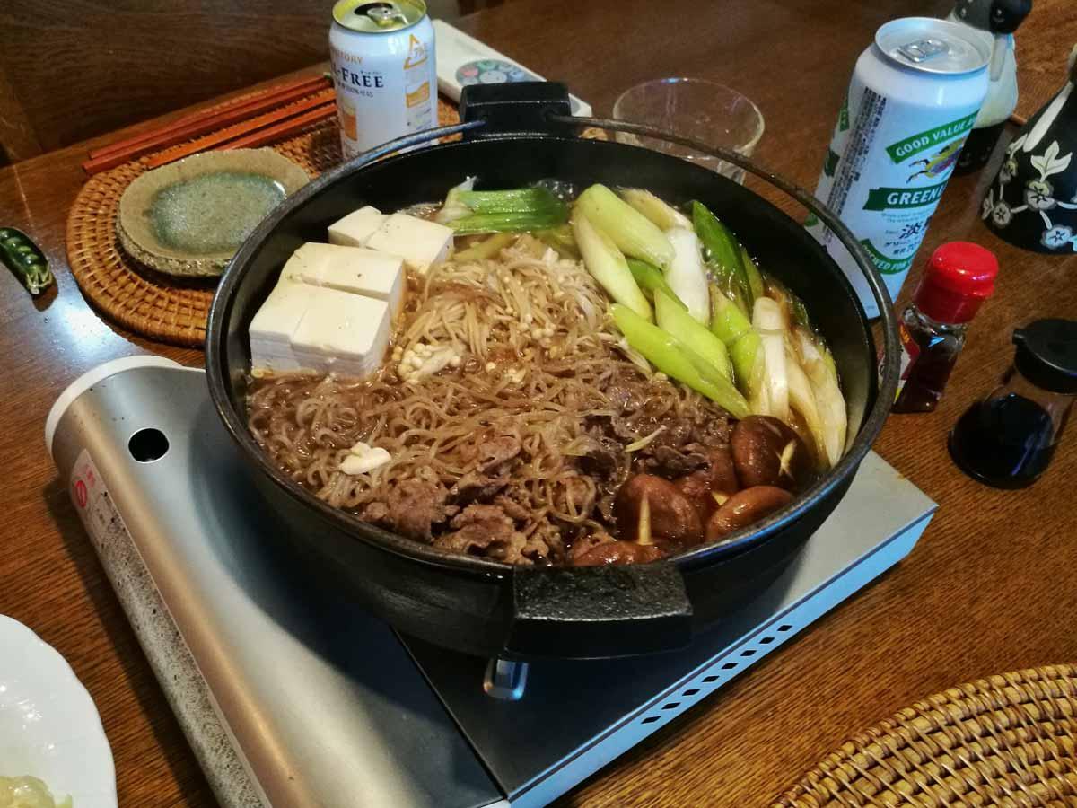Sukiyaki a Yokohama