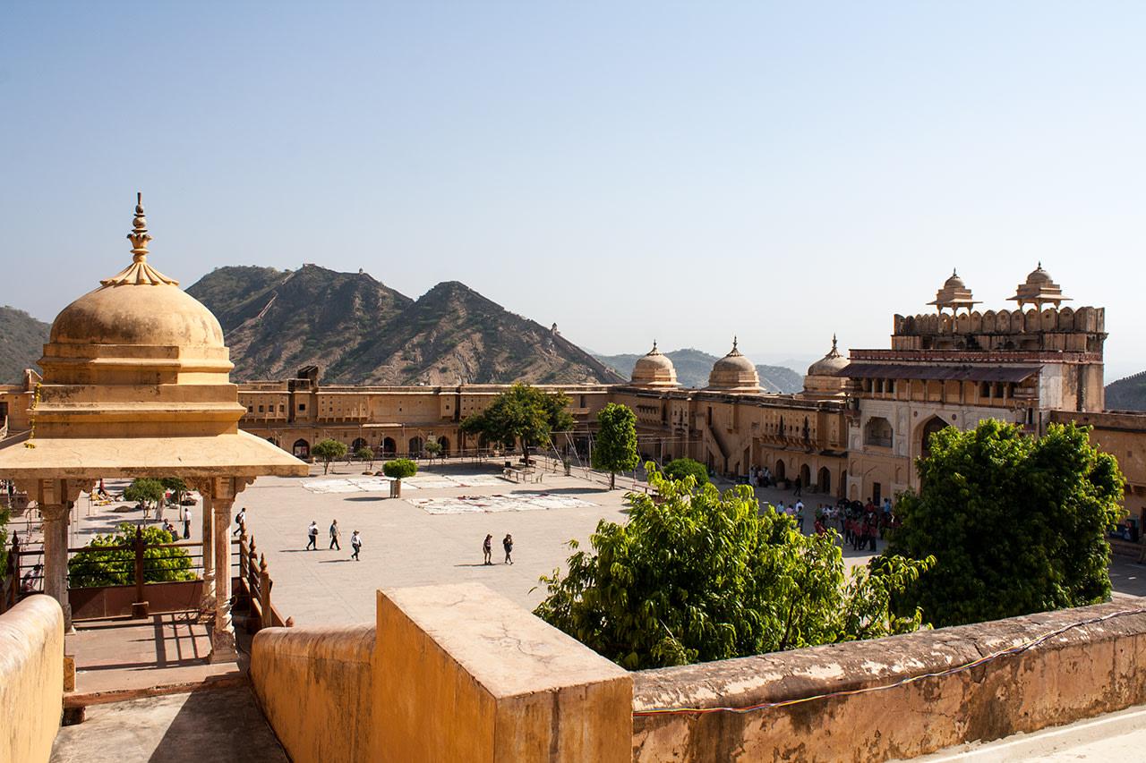 Fuerte de Jaipur, la India