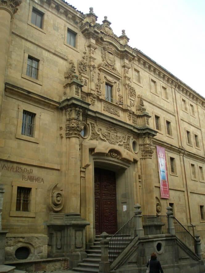 universidad pontificia de salamanca españa