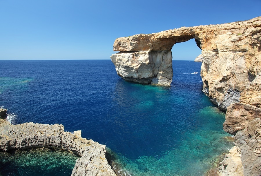 La finestra Azzurra, Gozo