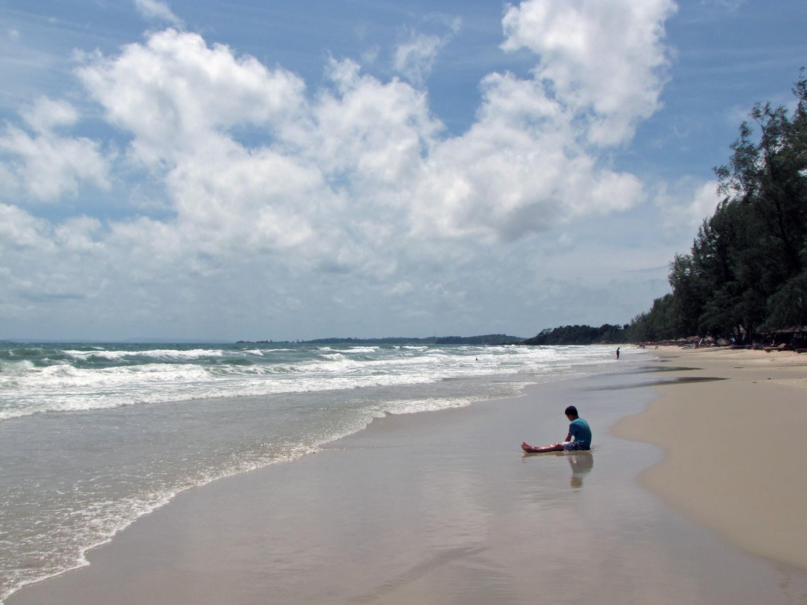 Otres Beach, Sihanoukville, Cambogia
