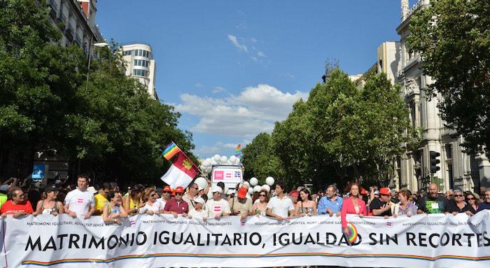 Manifestación orgulla gay año 2012 madrid