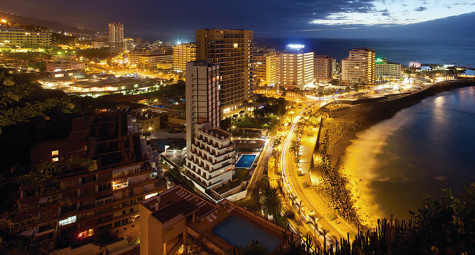 Tenerife vista notturna