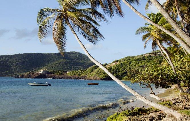 playa isla bequia en islas Granadinas