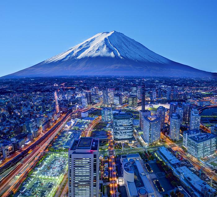Tokio: Fuji and Yokohama