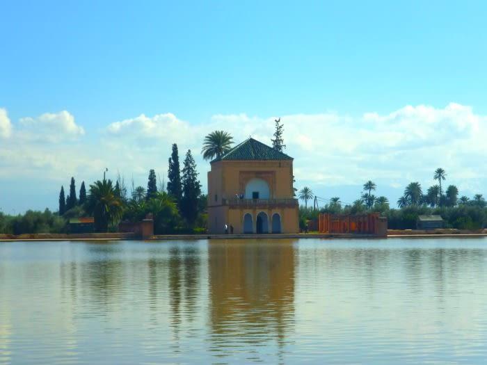 Marruecos: jardines de la Menara