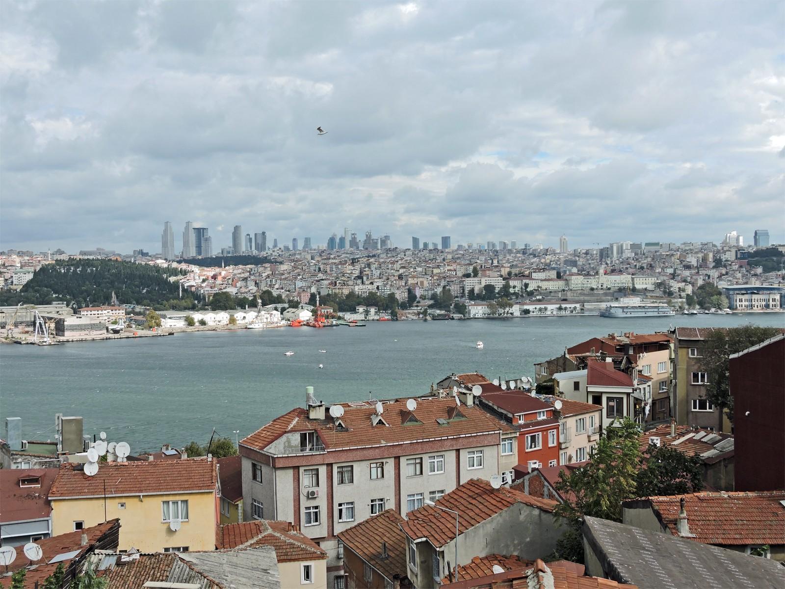 Vista dalla moschea di Selim