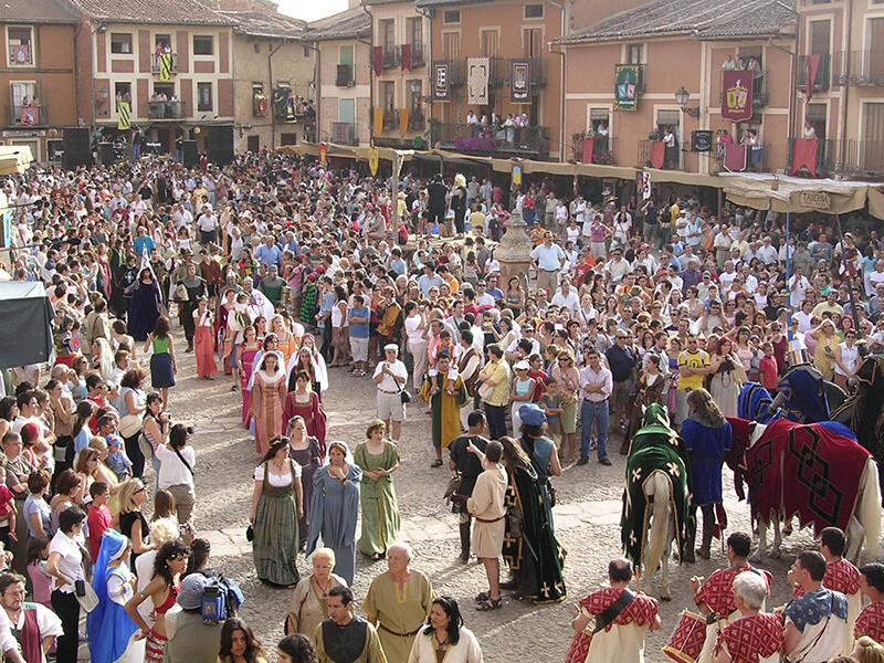 ayllon medieval en la provincia de segovia