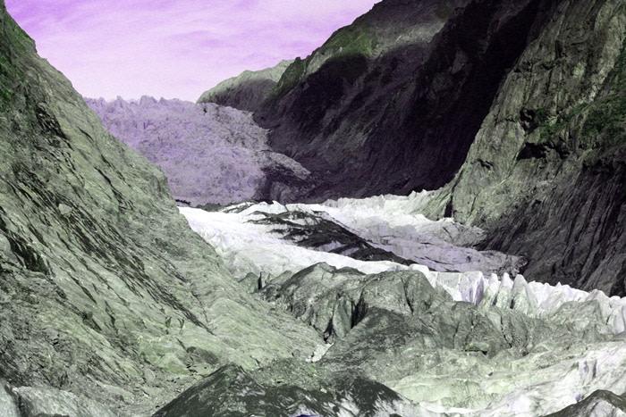 glaciar nueva zelanda