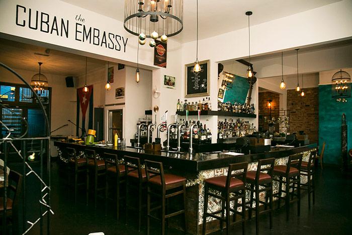 (c) The Cuban Embassy