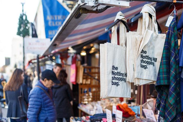 Mercadillos en Londres: Portobello