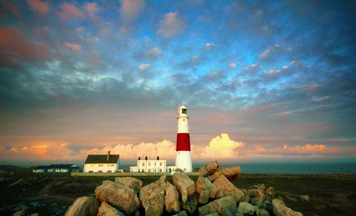 Il faro di Weymouth in Inghilterra