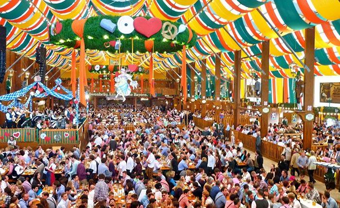 festival oktoberfest en munich alemania