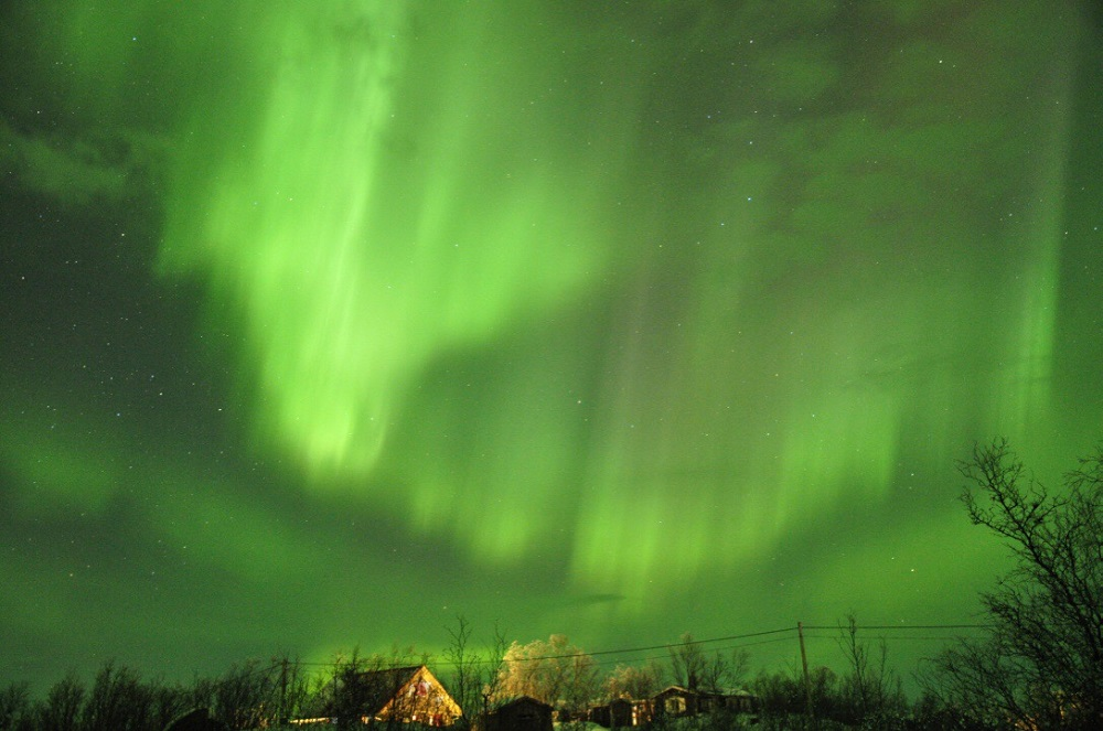 Abisko Svezia aurora boreale