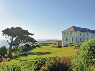 Mullion im Polurrian Bay Hotel