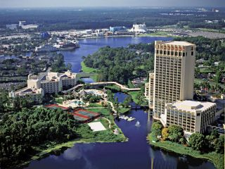 Lake Buena Vista im Hilton Orlando Buena Vista Palace Disney Springs Area