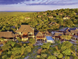 Etosha Nationalpark im Epacha Game Lodge & Spa