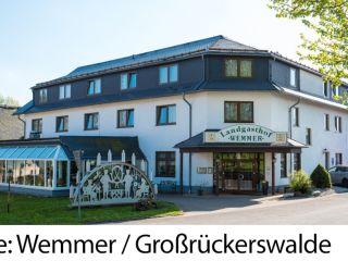 Urlaub Großrückerswalde im GreenLine Landgasthof Wemmer
