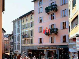 Lugano im Hotel Lugano Dante