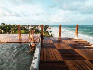 Urlaub Tulum im Hotelito Azul
