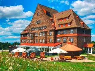 Kurort Oberwiesenthal im Sachsenbaude