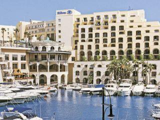 Urlaub San Giljan im Hilton Malta