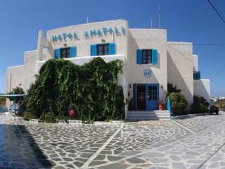 Naxos Stadt im Hotel Anatoli