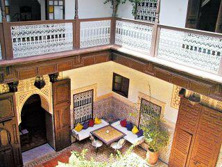 Marrakesch im Riad les Oliviers