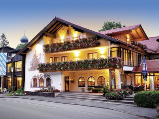 Oberammergau im Romantik Hotel Böld