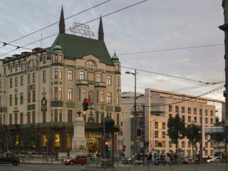Belgrad im Hotel Moskva