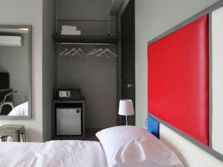 Skiathos-Stadt im Architectonika Design Hotel