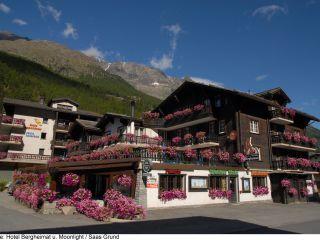 Saas-Grund im Hotel-Restaurant Bergheimat & Appartmenthaus Moonlight