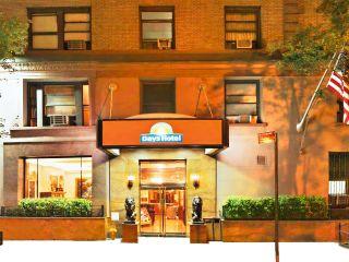 New York City im Night Hotel Broadway