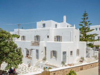 Naxos Stadt im Argo Hotel