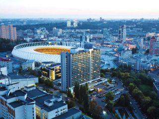 Kiew im Premier Hotel Rus