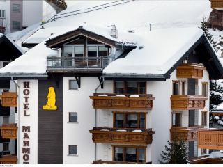 Saas-Fee im Hotel Marmotte