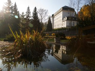Urlaub Jachymov im Radium Palace